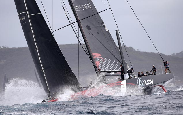 Near collision between favorites marks start of 73rd Sydney to Hobart race