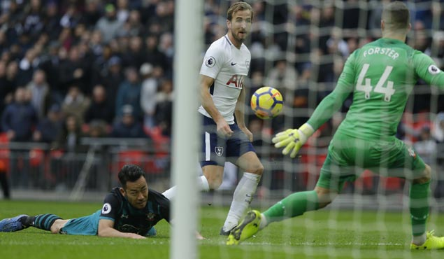 Harry Kane sets Premier League record with 39 goals in calendar year as Spurs rip Southampton