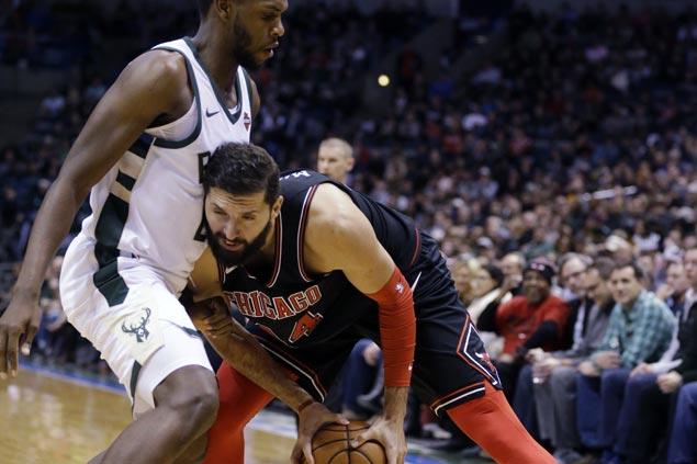 Nikola Mirotic-led Bulls bench overpower Bucks for repeat win