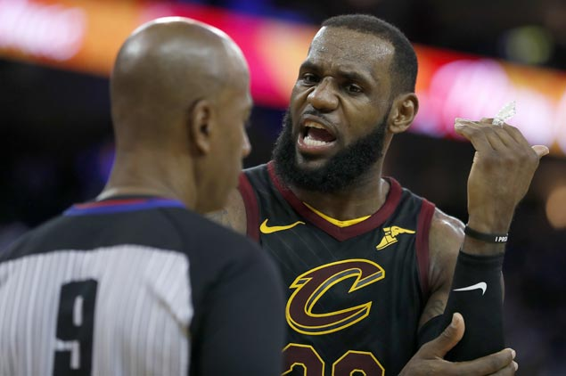 NBA admits refs missed two Kevin Durant fouls in last-ditch LeBron James drive