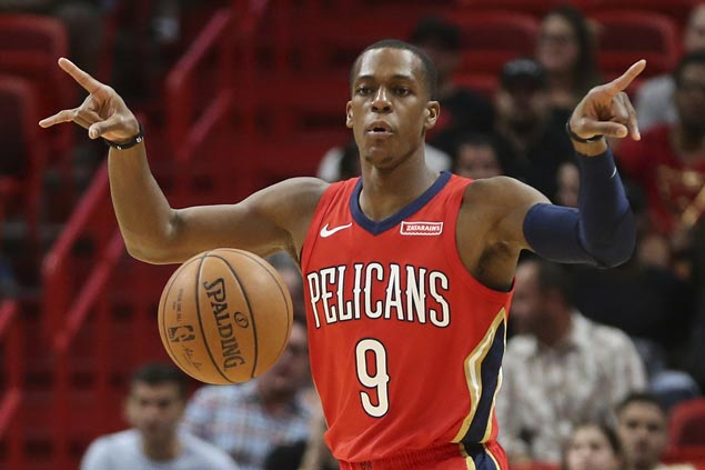 Boogie thrilled as Pelicans 'looked like the Harlem Globetrotters'with Rondo dropping dimes everywhere