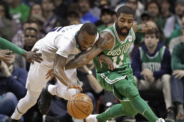 Celtics waste huge early lead but recover to complete wire-to-wire win over struggling Hornets
