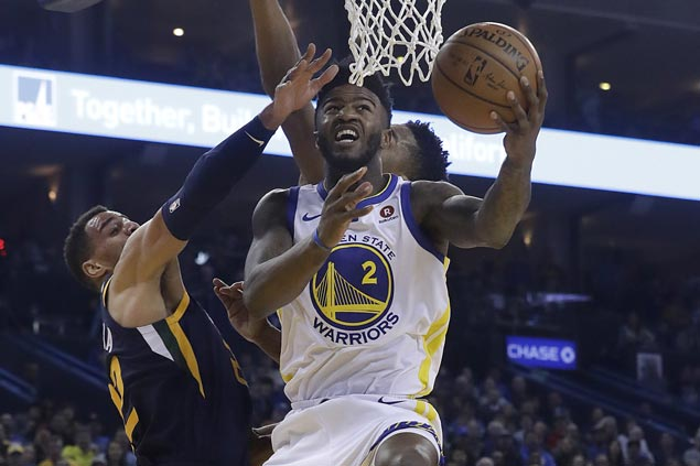 Warriors ride scorching third quarter blitz to turn tight battle early into a blowout win over Jazz