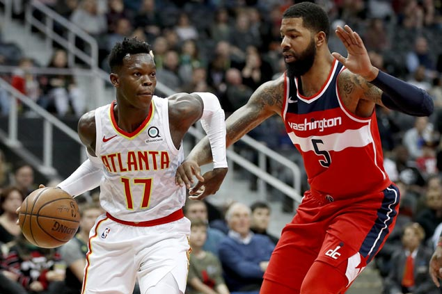 Schroder, Ilyasova lead Hawks romp over Wizards for first back-to-back wins of the season