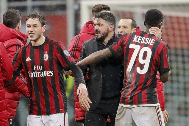 Despite near $250M offseason spending, AC Milan missing out in tight race for Serie A title