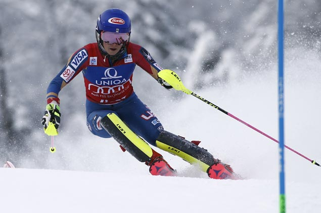 Olympic champ Mikaela Shiffrin cruises to comfortable win in women's World Cup slalom