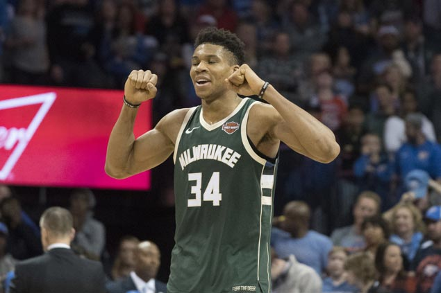 Bucks edge Thunder on controversial Giannis Antetokounmpo last-second basket