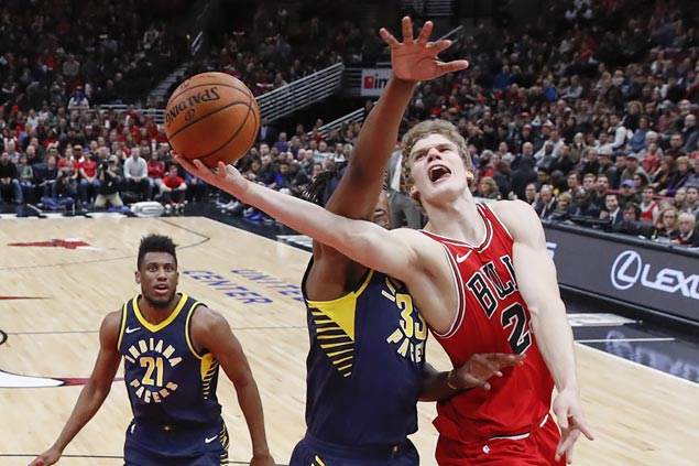 Lauri Markkanen shows way as Bulls nail 18 triples in big win over Pacers