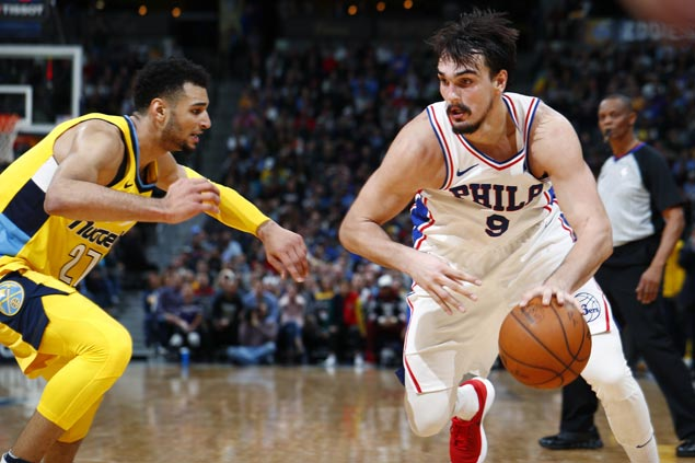Dario Saric sparks second-half rally as Embiid-less Sixers edge Nuggets