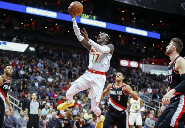 Dennis Schroder catches fire in second half as Hawks rip Blazers