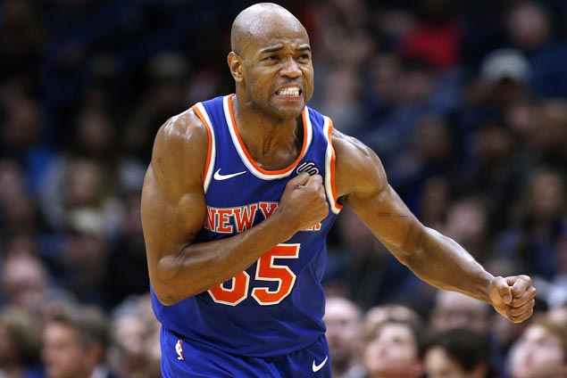 Jarrett Jack hits clutch free throws as Knicks beat Pelicans to end four-game slide