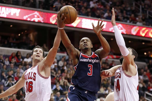 Bradley Beal scores 39 points as Wizards rally to beat Bulls