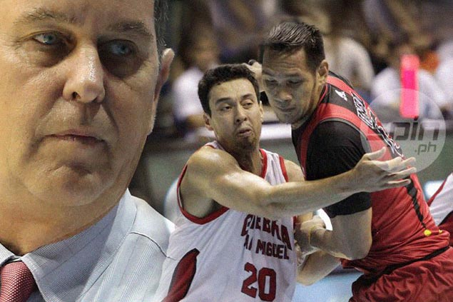 Tim Cone says Greg Slaughter 'the only real answer to June Mar' Fajardo