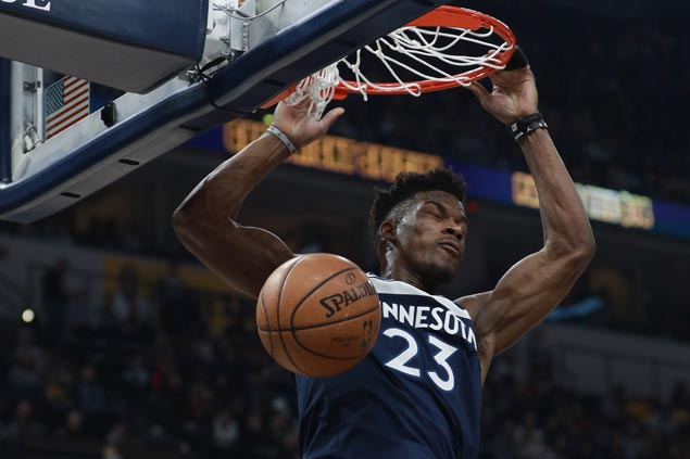 Timberwolves get off to strong start and complete wire-to-wire victory over slumping Pacers