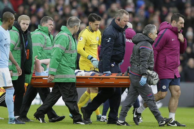 Trouble suddenly for City as win run ends at 18, Gabriel Jesus and Kevin De Bruyne suffer injuries
