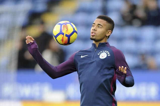 City striker Gabriel Jesus set for further tests to determine extent of medial ligament damage