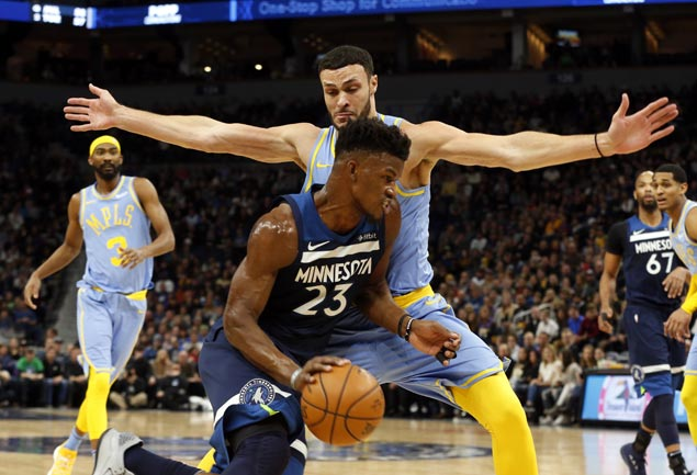 Jimmy Butler leads balanced Timberwolves offense to deal Lakers seventh consecutive loss
