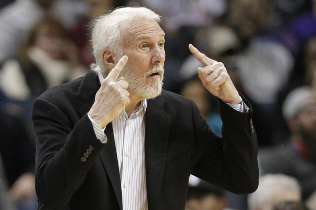 Gregg Popovich passes George Karl for solo fifth on NBA coaching wins list as Spurs down Knicks