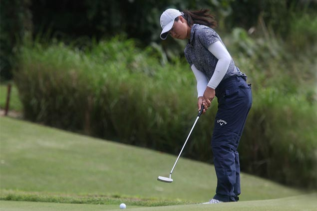 Yuka Saso slips in closing holes, shares early Greenfield lead with two Thais