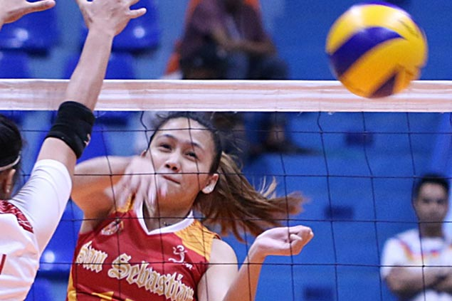 Eight-member San Sebastian too strong for EAC Lady Generals in NCAA women's volley opener