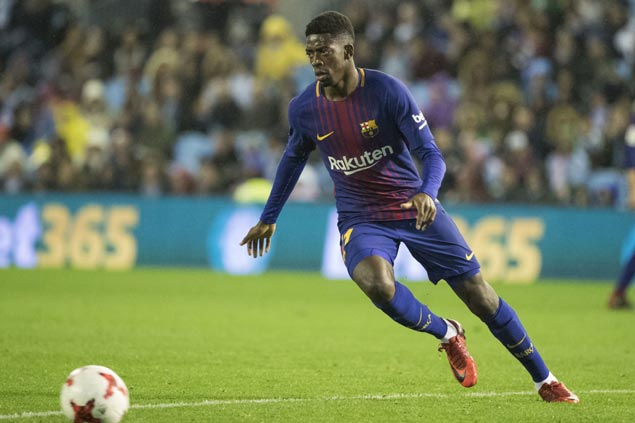 Ousmane Dembele returns from long injury layoff but Barcelona clash vs Celta Vigo ends up in draw