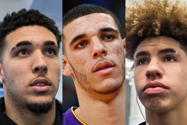 LiAngelo and LaMelo Ball will join brother Lonzo at Lakers in 2020, says father