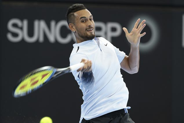 Nick Kyrgios ousts defending champ Grigor Dimitrov to face Ryan Harrison in Brisbane final