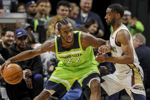 Timberwolves use balanced offense to beat lethargic Pelicans and stop two-game skid