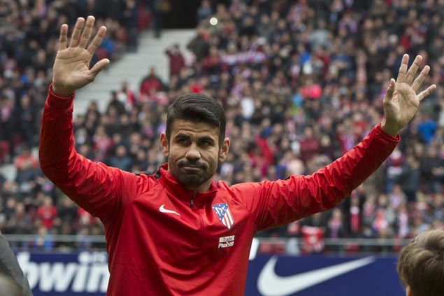 At his best, and worst, Diego Costa scores then gets sent off as Atletico defeats Getafe
