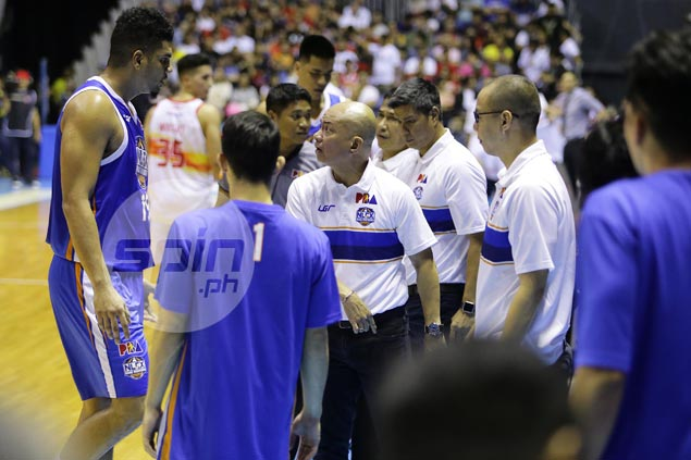 Yeng Guiao refuses to pin blame on Kiefer Ravena after poor shooting night