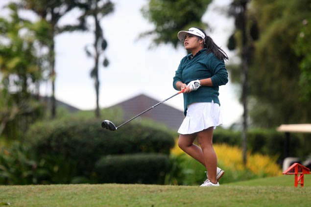 Thai amateur golfer Pavarisa Yoktuan sets pace, Dottie Ardina in joint second at Splendido