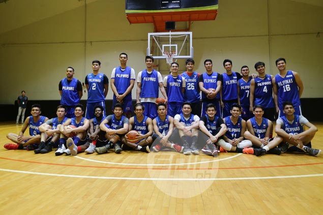 Chot Reyes sets the bar high for Gilas youngsters: 'They're the cream of crop'