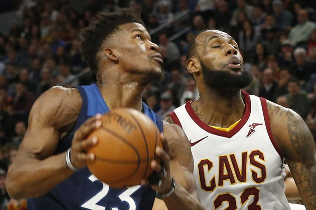 Timberwolves take control early and cruise to 28-point victory over struggling Cavaliers