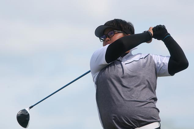 Chihiro Ikeda shares first-round lead with Thai golfer at LPGT Beverly Place