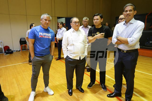 Chot Reyes still in process of laying down definite, long-term plan for Gilas cadets