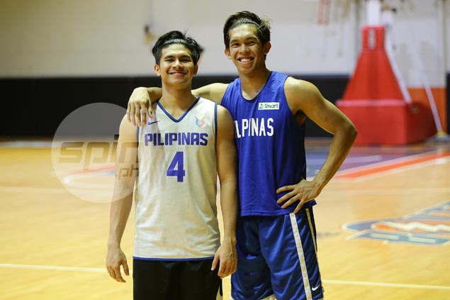 Kiefer Ravena the least surprised to see Thirdy step out of his shadows, spread wings