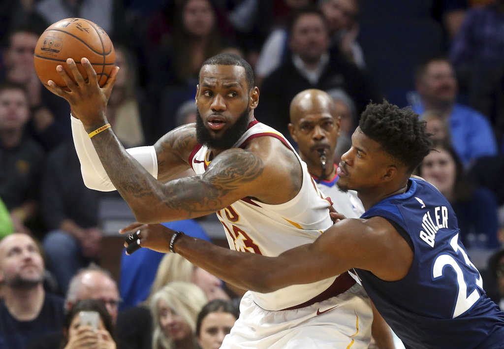 Timberwolves' romp over Cavs proof of Jimmy Butler's influence on young team