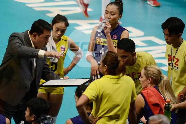 Ramil de Jesus unfazed by balancing act as La Salle, F2 Logistics campaigns overlap