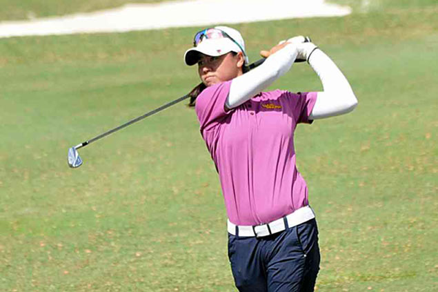 Yuka Saso rides wave of good form to seize Philippine Ladies Open lead