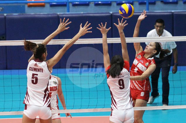 San Beda skipper Cesca Racraquin's call to double the effort didn't fall on deaf ears