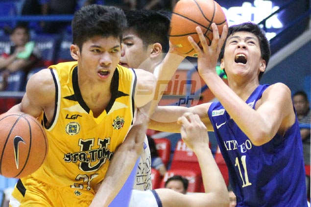 UST Tiger Cubs star CJ Cansino opens big lead over Kai Sotto in UAAP juniors MVP race