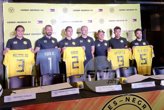 Former Real Betis mainstay Doblas, Aguinaldo head star signings of Ceres Negros FC