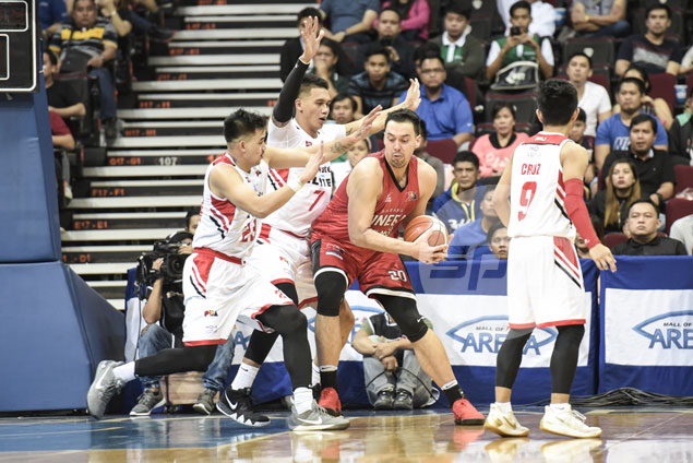 Greg Slaughter says Ginebra loss to Blackwater an eye-opener: 'We always have to bring our game'