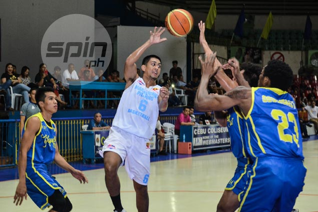 Joseph Terso, Gab Banal take over late to lift Marinerong Pilipino over UC in Sinulog Cup
