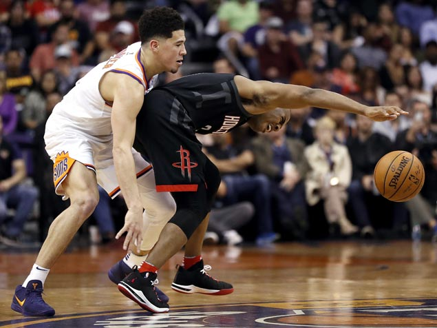 Chris Paul takes charge as Harden-less Rockets assert mastery of Suns