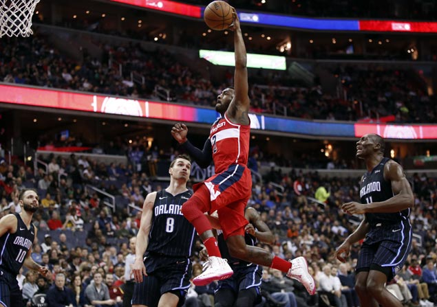 Bradley Beal, John Wall score 30 apiece as Wizards edge Magic to end two-game slide