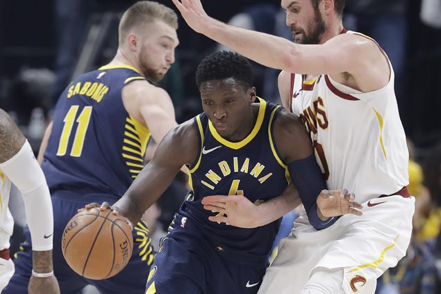 Pacers erase huge early deficit and deal Cavaliers third straight loss