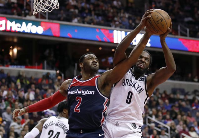 Wizards squander 23-point lead but recover to beat Nets in overtime