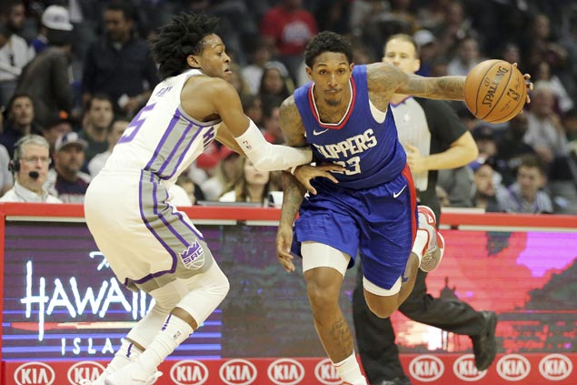 Lou Williams continues fine play as Clippers repeat over Kings for fourth straight win