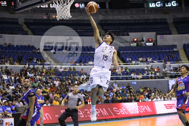 Kiefer Ravena says anything short of your A game won't cut it against Paul Lee